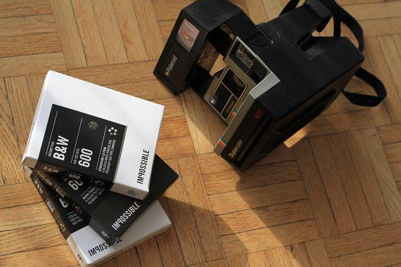 Films Impossible et Polaroid 600