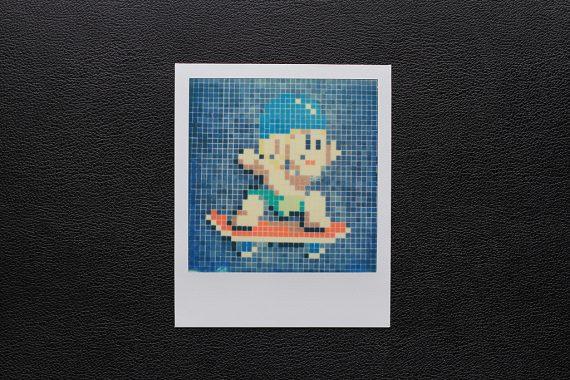 Photo Street Art Polaroid SX-70