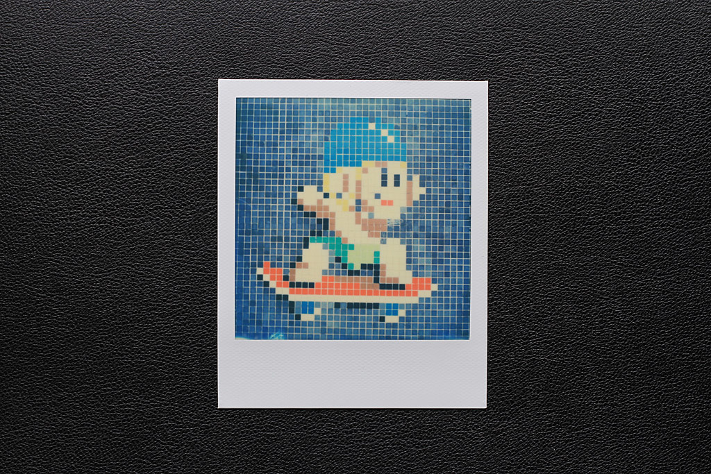 Photo Street Art Polaroid SX-70