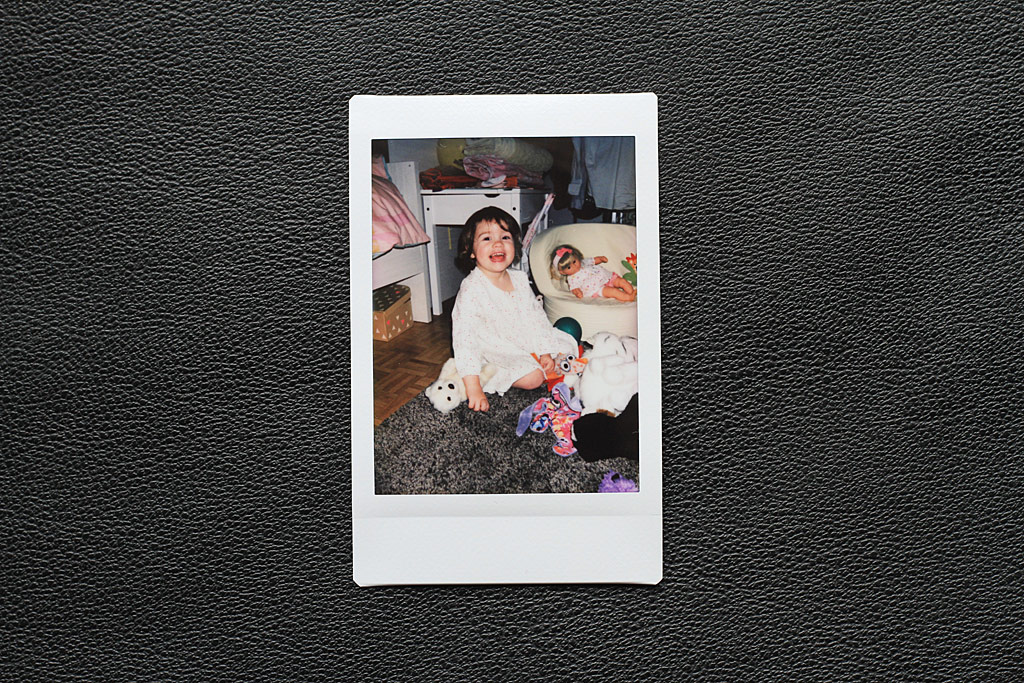 Photo d'intérieur Instax Mini avec appareil Instax Mini 8