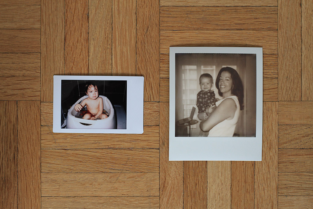 Photo Instax Mini et Photo Impossible Polaroid