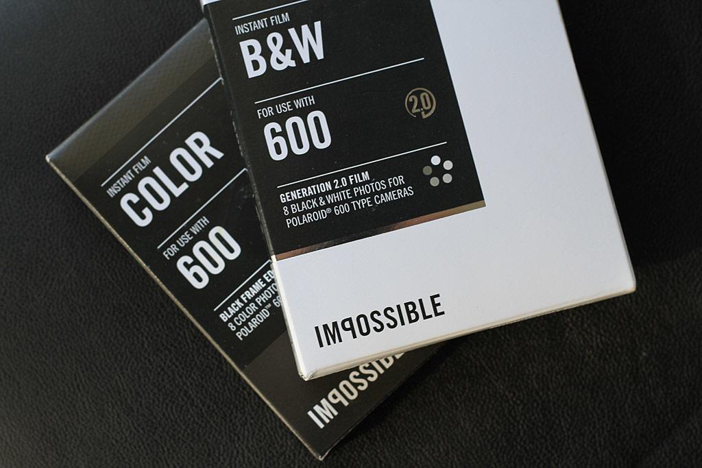 Film Impossible 600 pour appareil Polaroid