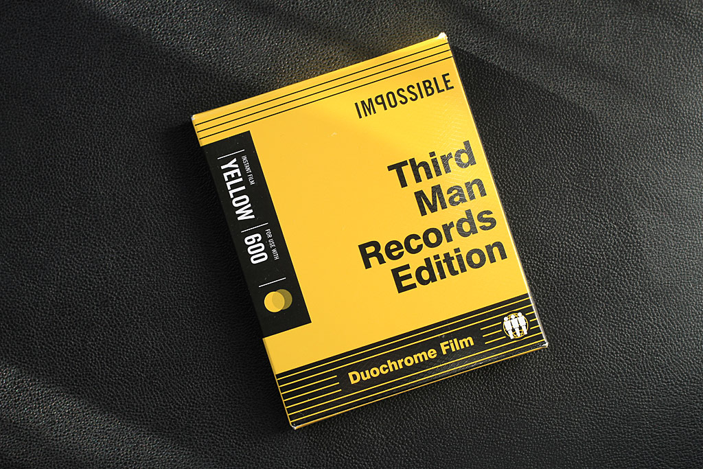 Boite de film instantané Third Man Records, par Impossible