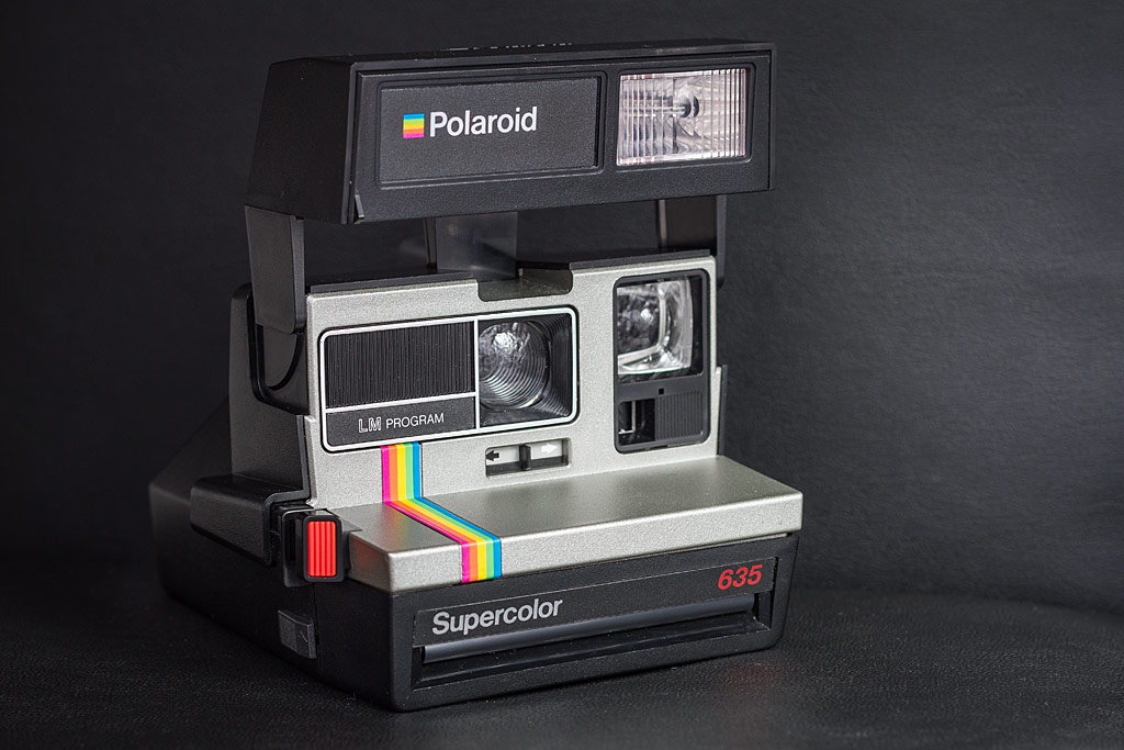 Polaroid 635 Supercolor LM Program