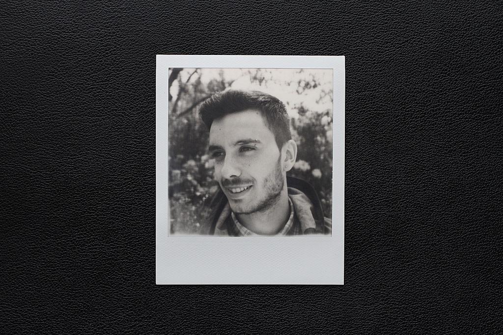 Portrait rapproché SX-70