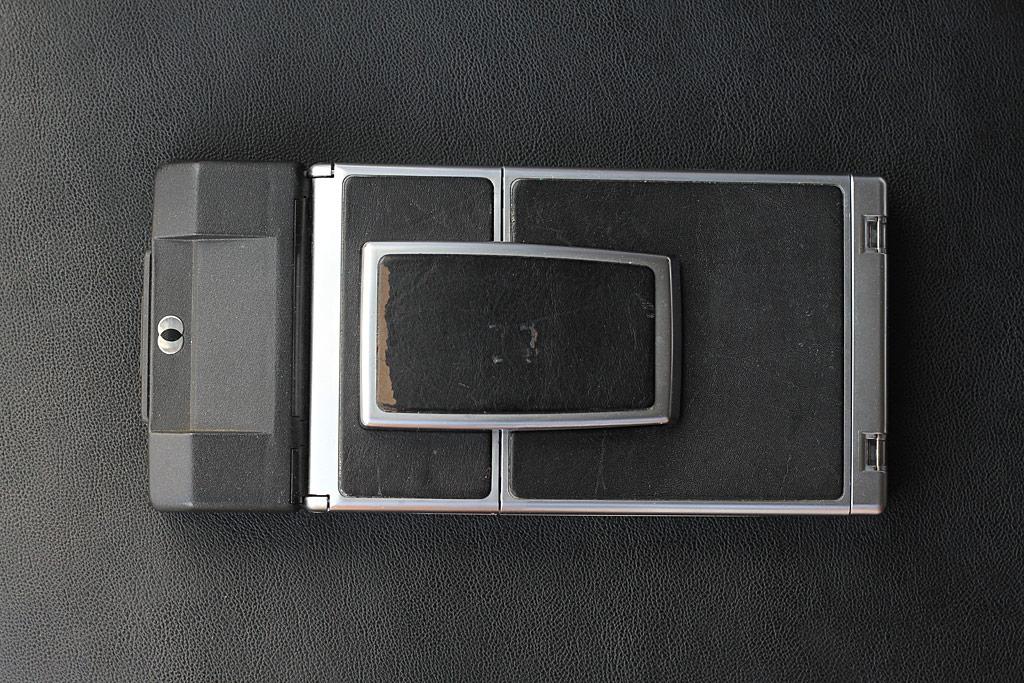 Polaroid SX-70 Sonar OneStep replié