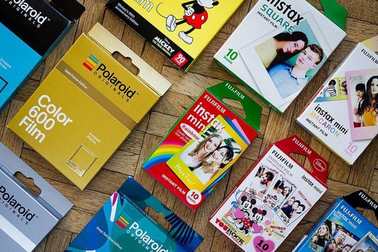 5 idées pour acheter vos films Polaroid et Instax moins cher