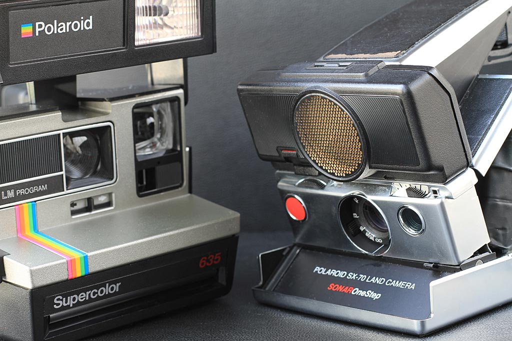 Appareils Polaroid vintage