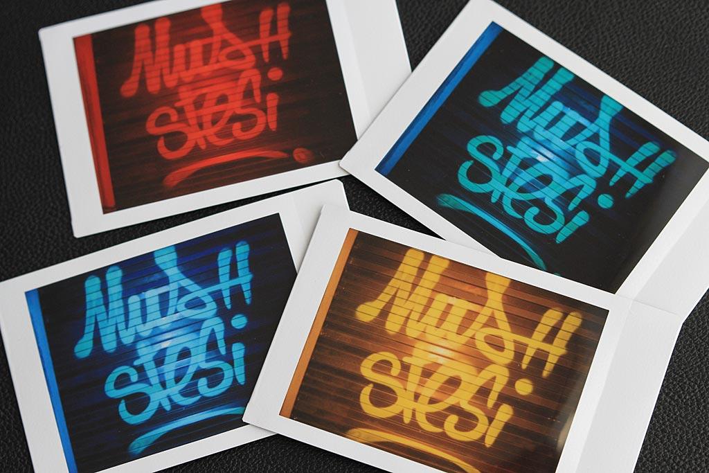 Les quatre filtres de couleur à l'oeuvre sur un même sujet.