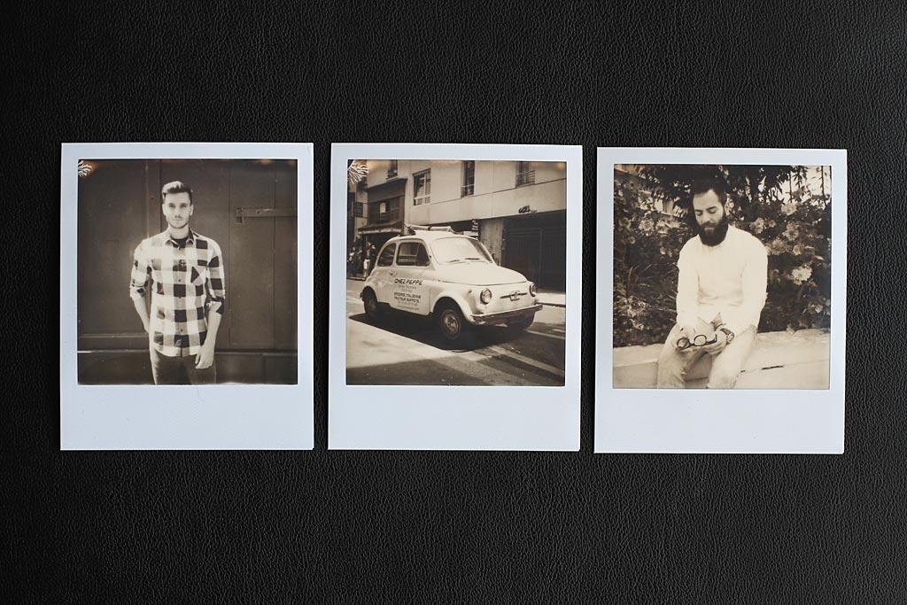 Photos faites avec un Polaroid 5000