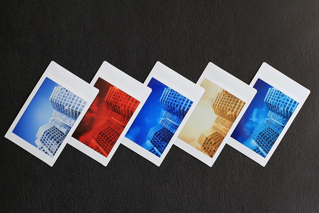 Filtres de couleur pour Instax Mini