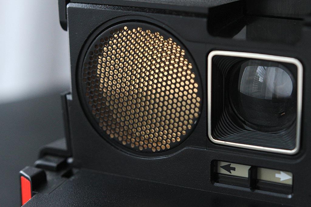 Polaroid 660 AF : le sonar
