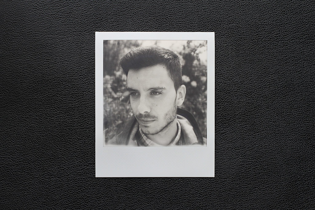 Photo faite avec un Polaroid SX-70 One Step