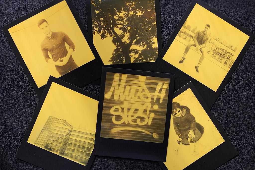 Polaroids faits avec le film Third Man Records Edition