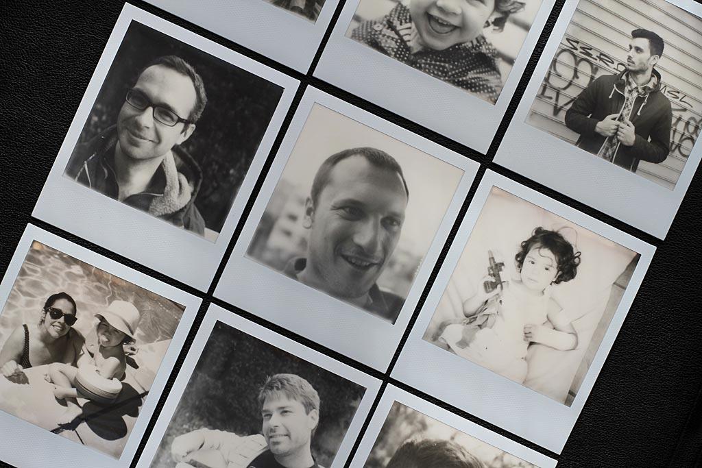 Plusieurs Photos Polaroids
