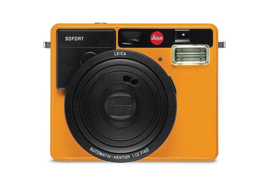 Le Sofort de Leica dans sa version orange.