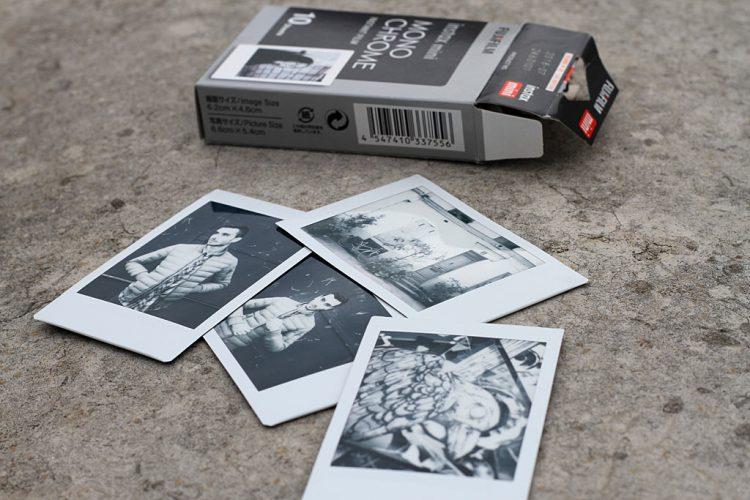 Photos Instax Mini Noir et Blanc