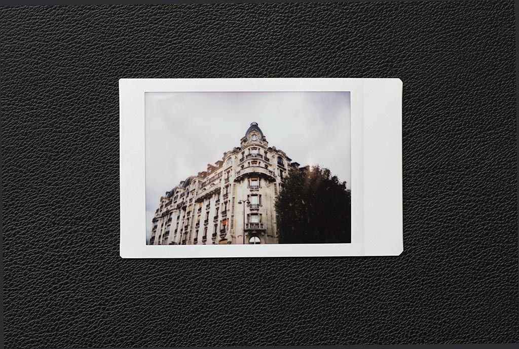 The Fujifilm's Instax film uses its charm with its characteristic color rendering.