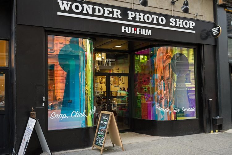 Magasin Wonder Photo Shop de Fujifilm à New York