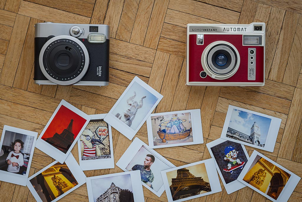 Only the Fuji 90 Neo Classic can compare to the Lomo'Instant Automat.
