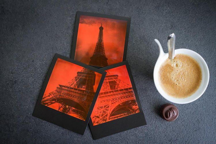Film Impossible Project Duochrome Orange & Black