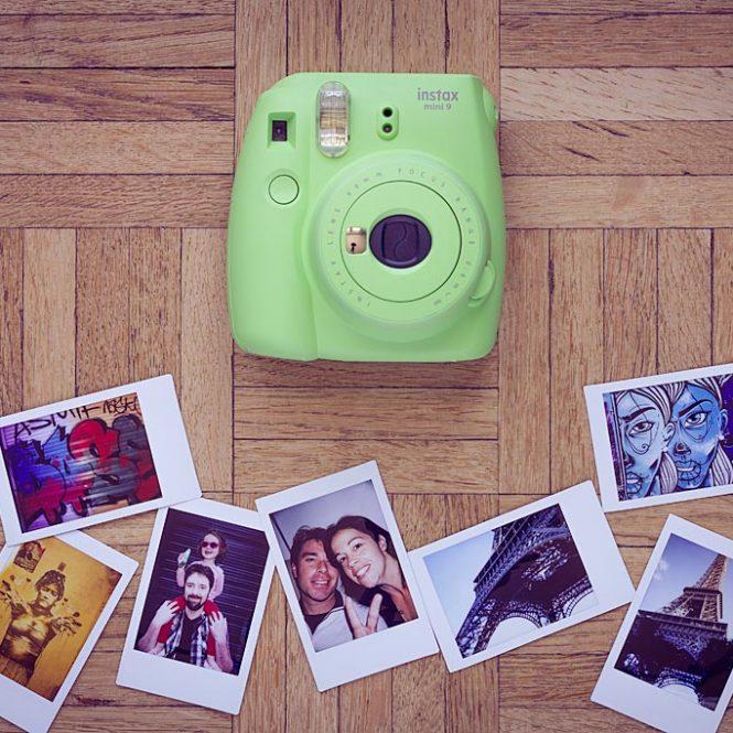 Appareil photo instantané Instax Mini 9 de Fujifilm