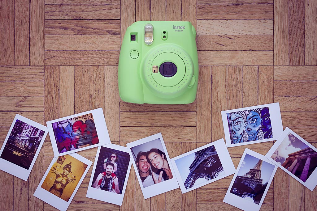 Cheap and easy to use, the Instax Mini 9 is THE flagship model of Fujifilm