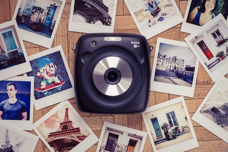 Appareil photo instantané Instax Square SQ10 de Fujifilm