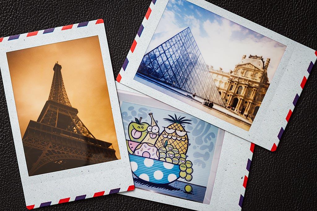 """Le film Airmail apporte une jolie touche """"carte postale"""" à vos instantanés. Très sympa."""