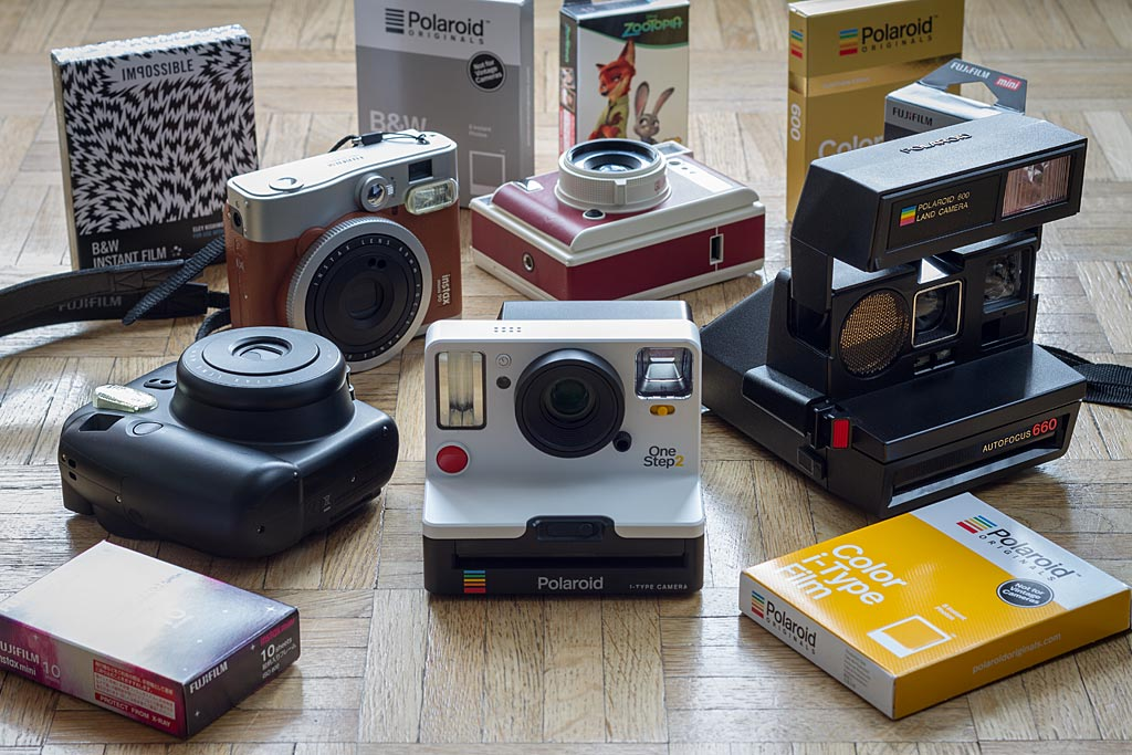 guide d 39 achat des appareils instantan s 2018 polaroid. Black Bedroom Furniture Sets. Home Design Ideas