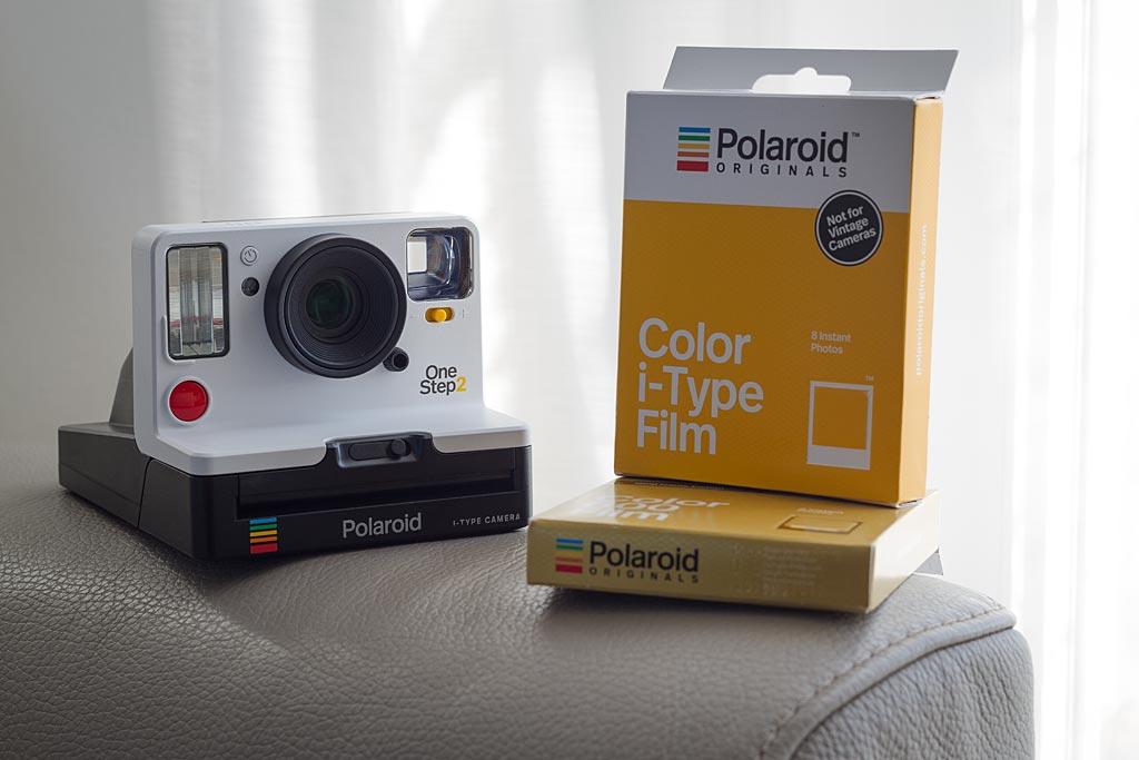 """The Original is back"". Polaroid Originals makes new with old and makes a noticeable comeback with the OneStep 2."