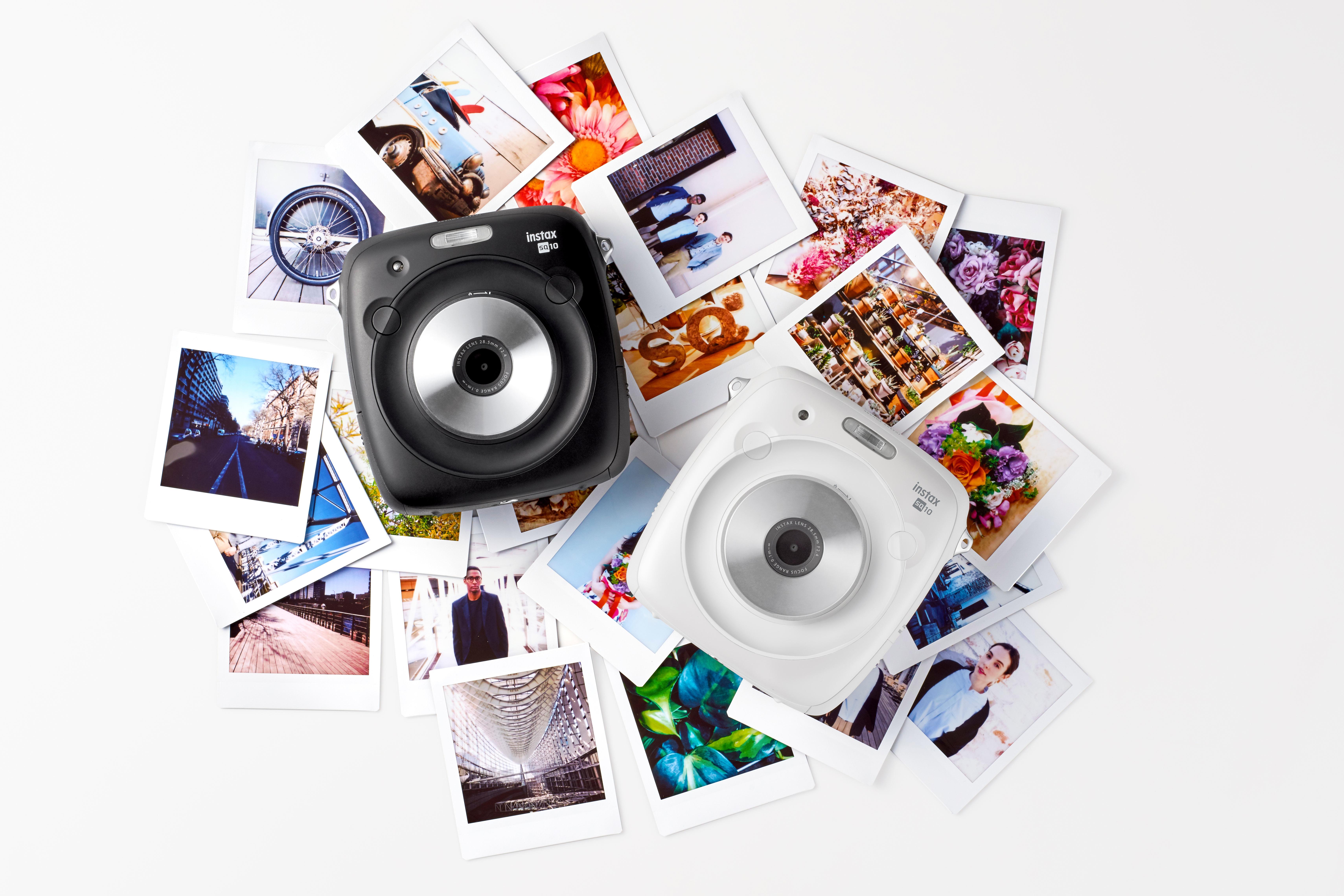 L'Instax Square (SQ10) est maintenant disponible en coloris blanc !