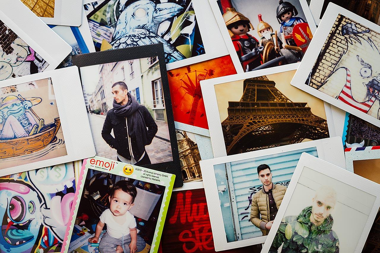 Exemples d'images Instax Mini