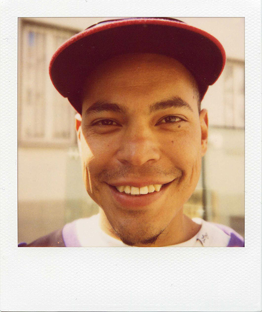 Polaroid portrait, photo Florent Dudognon