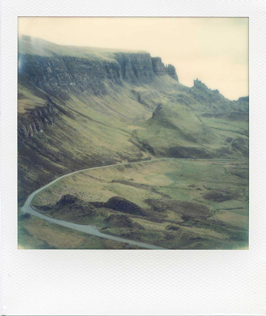 The Road Quiraing Isle of Skye, photo Florent Dudognon