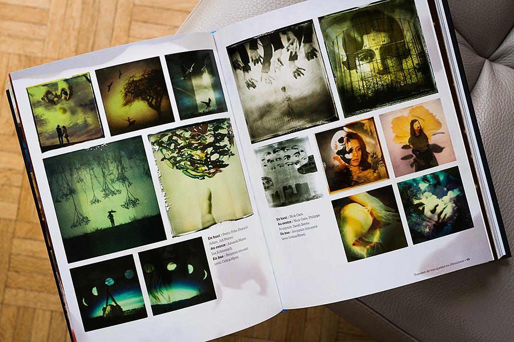 Le grand livre du Polaroid contient des exemples de photos aussi nombreux qu'impressionnants