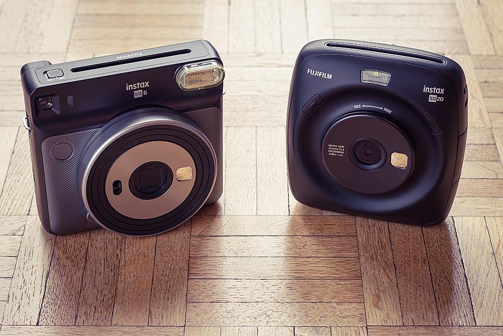 Le SQ20, à droite, est plus petit que le SQ6, un frangin de la gamme Square sorti quelques mois avant lui.