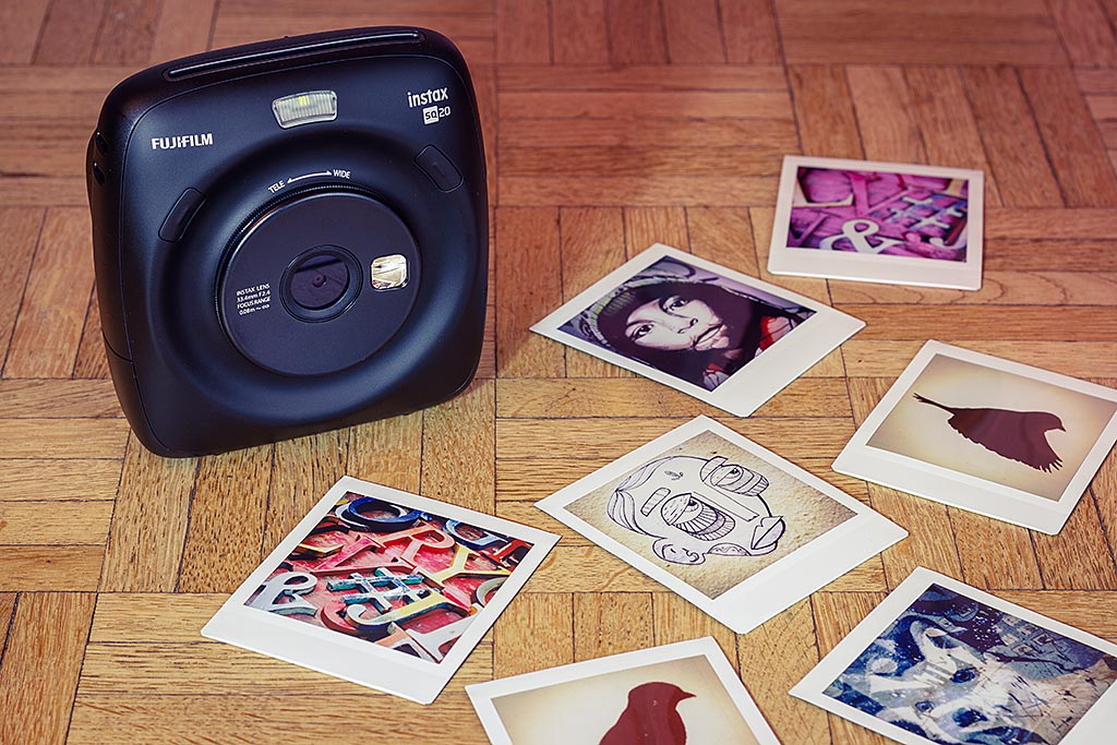 Le SQ 20 occupe, avec le SQ10 qu'il remplace, une place spéciale parmi les appareils photo Instax. Ce sont les seuls appareils qui vous laissent sortir sur papier les photos de votre choix.