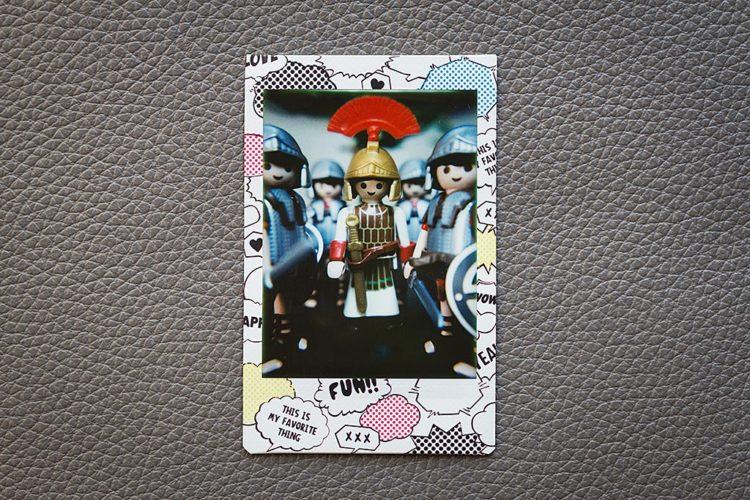 Photo prise avec la lentille macro du Lomo Instant Automat de Lomography