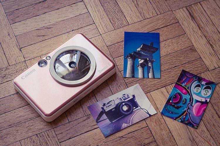 Appareil photo et Imprimante instantanée Zoemini S de Canon