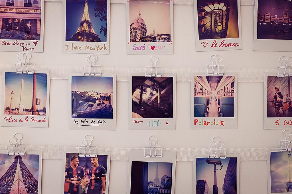 Les visiteurs sont invités à essayer le Polaroid Lab, et peuvent s'inscrire à des ateliers (places limitées !)