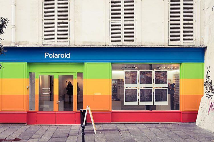 Le pop-up store Polaroid Originals, rue du Roi de Sicile à Paris