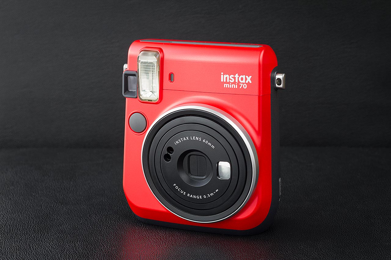 Test de l'appareil Instax Mini 70 de Fufjifilm