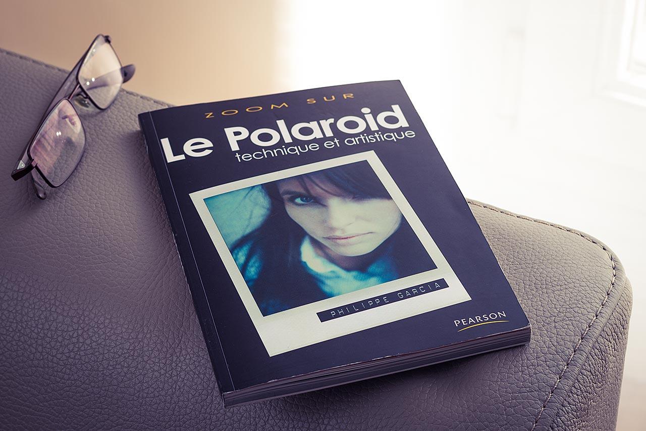 """Livre """"Le Polaroid technique et artistique"""", de Philippe Garcia"""