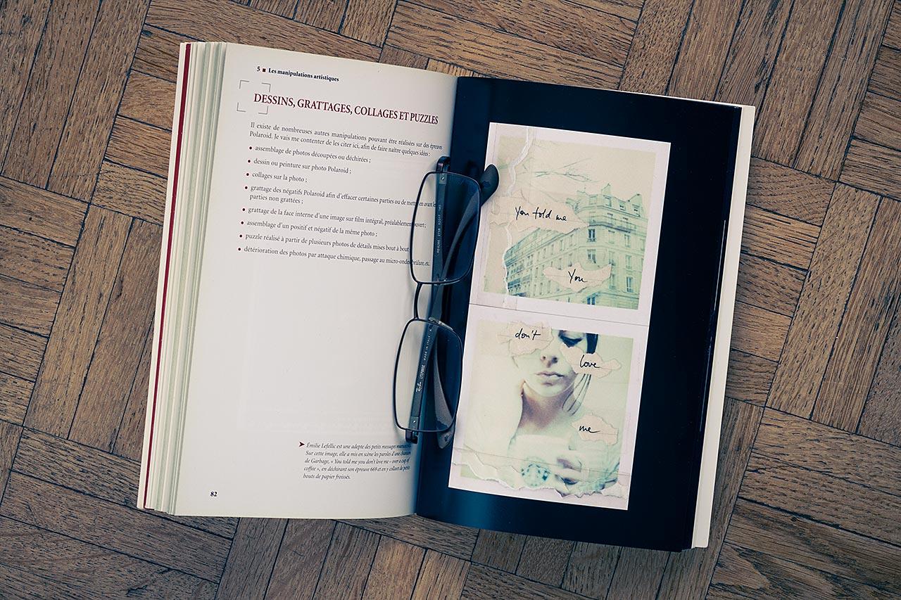 Le chapitre présentant le travail d'artistes spécialistes du polaroid est très inspirant.