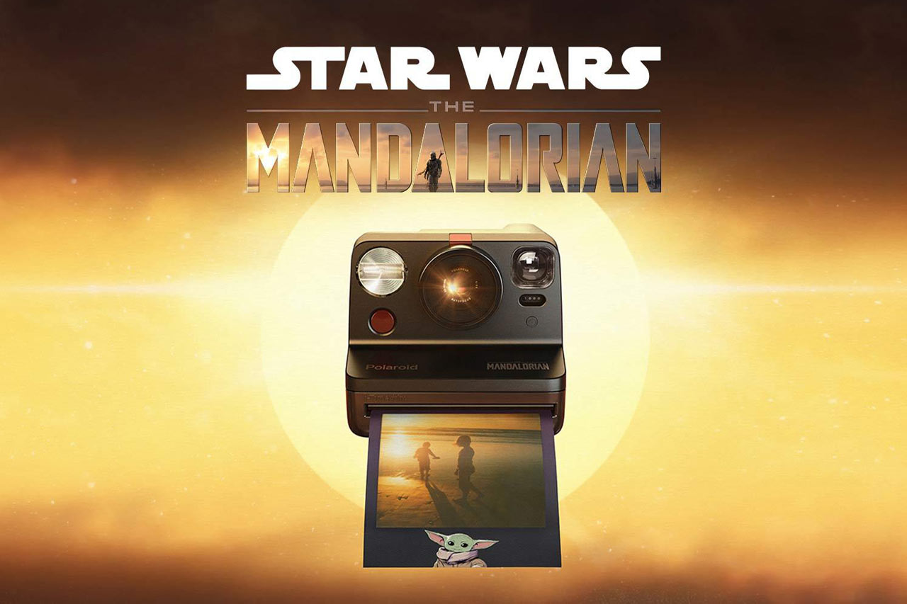 Polaroid Now, édition limitée The Mandalorian chez Polaroid