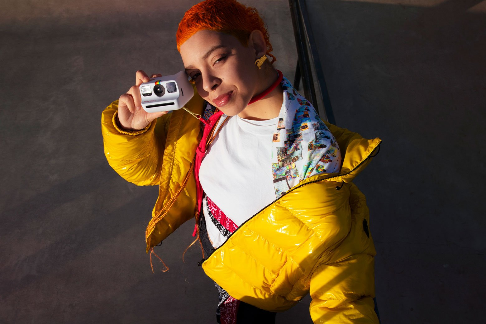 Le Polaroid Go tient facilement dans une seule main