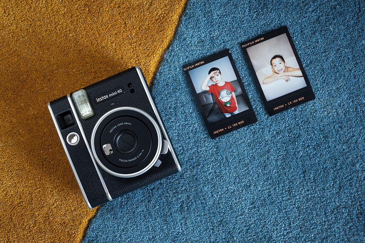Comme toujours, le format Instax Mini est idéal  pour composer de petits portraits